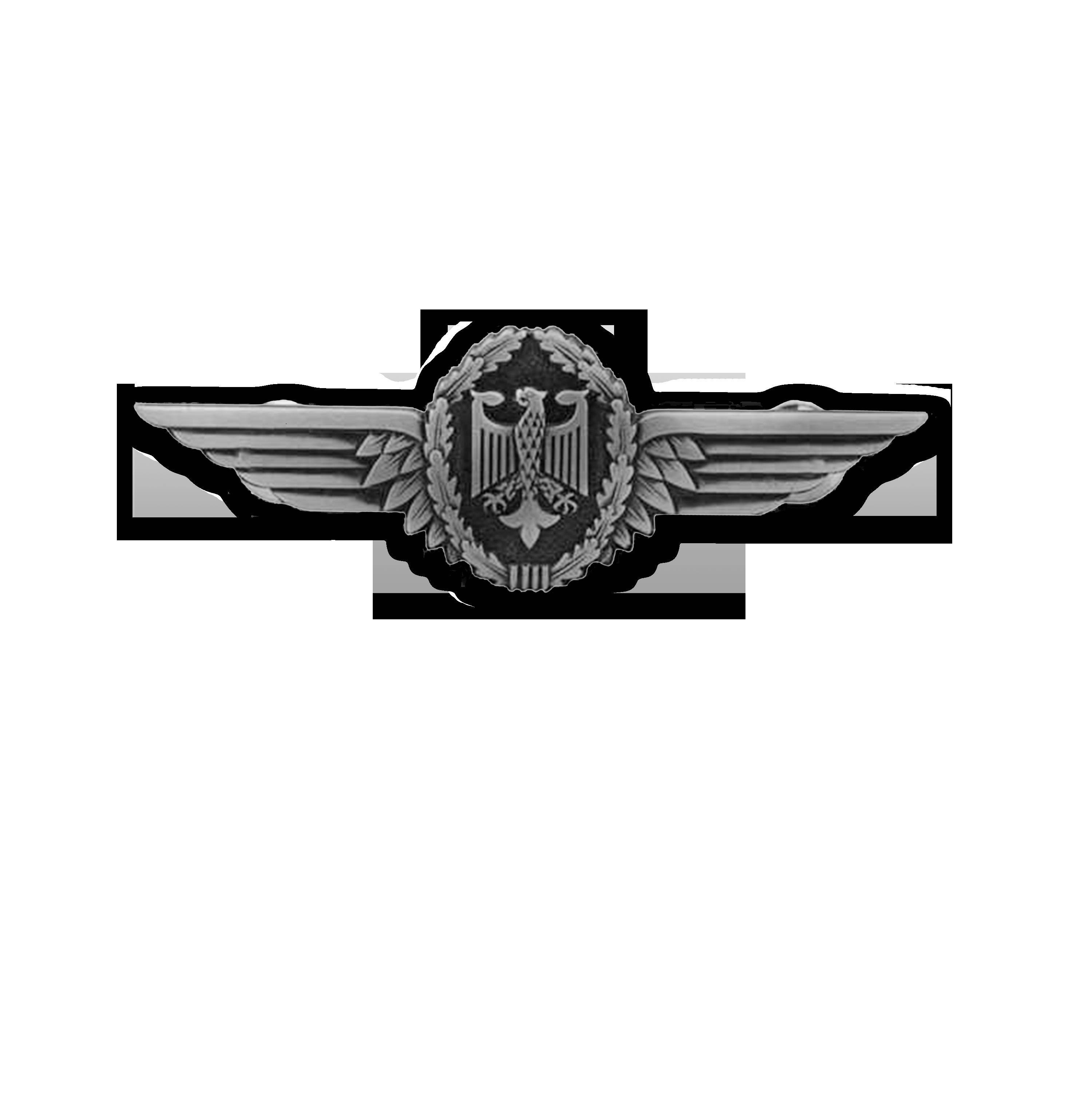Pilotenschwinge Silber